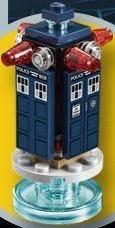 Dimensions Laser-Pulse TARDIS