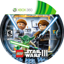 Star Wars III The Clone Wars XBOX360-CD