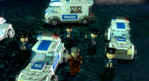 Comissioner gordan with gcpd