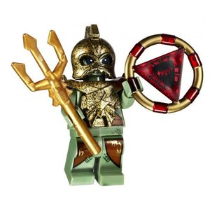 Portal Emperor met drietand en sleutel