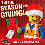 The lego movie christmas