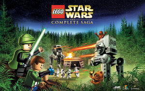 LEGO Star Wars-The Complete Saga wallpaper 2