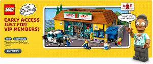 Lego 71016 vip