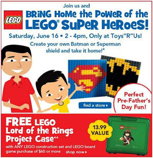 LEGO Lord of the Rings Project Case add