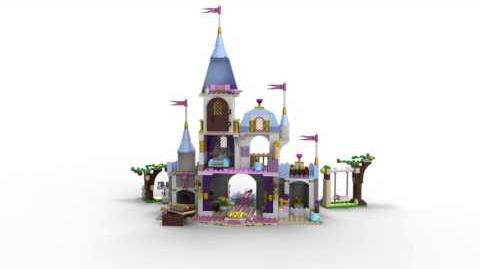 LEGO Disney Princess 41055 Cinderella's Romantic Castle 3D