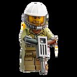 Male Volcano Worker (60125)