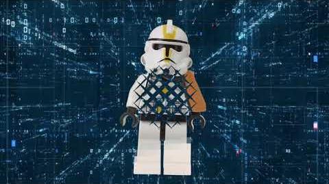 LEGO® minifigure 40th anniversary decade video