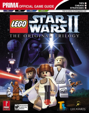 LEGO Star Wars II The Original Trilogy Prima Guide detail