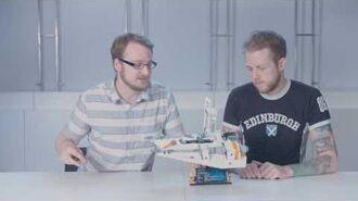 Snowspeeder - LEGO Star Wars - 75144 - Designer Video