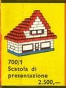 700'1-3 catalogus IT 1958