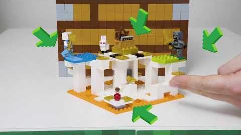 Introducing The Skull Arena - LEGO Minecraft - 21145 - Designer Video