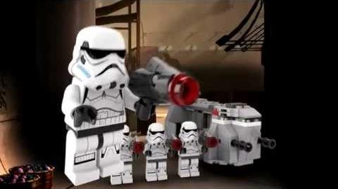 LEGO Star Wars 75078 Imperial Troop Transport LEGO 3D Review