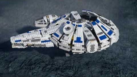 LEGO® STAR WARS™ - Сокол Тысячелетия на Дуге Кесселя