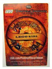 4643103 Jack Sparrow ruilkaart achterkant