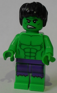 Hulk other face