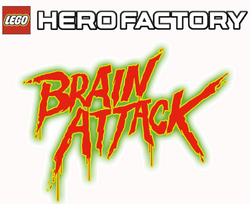 LEGO logo Brain Attack