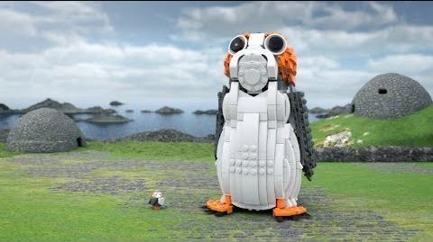Porg - LEGO STAR WARS - 75230 Product Animation