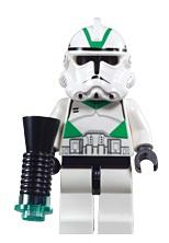 Siege Trooper met blaster