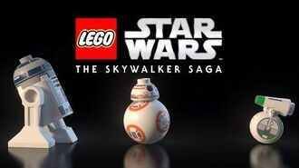 Official LEGO Star Wars The Skywalker Saga Trailer