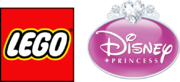 LEGO logo Disney Princess 2014