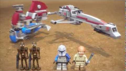 BARC Speeder with Sidecar - LEGO Star Wars - 75012