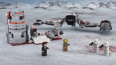 Defense of Crait - LEGO Star Wars - 75202 Product Animation