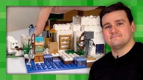 The Polar Igloo - LEGO Minecraft - 21142 - Designer video