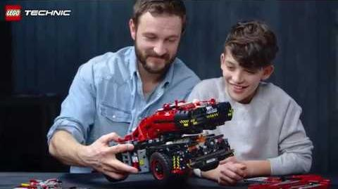 The story behind the incredibly tall LEGO Technic Rough Terrain Crane (42082)