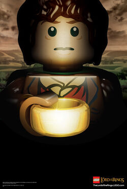 5001163 LEGO The Lord of the Rings Frodo Poster