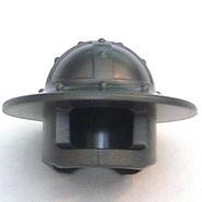 Helm 30273 (Castle,brede rand) grijs donker