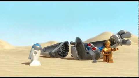 LEGO 9490, LEGO Star Wars, Droid Escape
