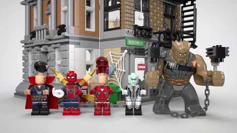 Sanctum Sanctorum Showdown - LEGO Marvel Super Heroes - 76108 Product Animation