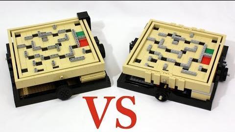 LEGO Maze 21305 vs Original Ideas Model