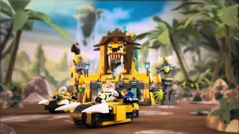 Lego Legends of Chima 70010 The Lion Chi Temple Lego 3D Review