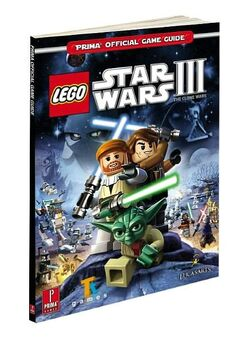 Star Wars III The Clone Wars Prima Guide schuin
