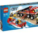 7213 Off-road Brandweerwagen en -boot