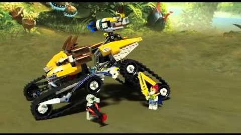 Lego Chima 70005 Lavals Royal Fighter - 3D Review
