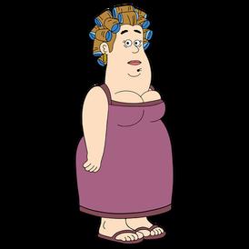 Brickleberry HD CLEAR Character ART Buella Firecracker Jim's Wife