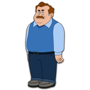 Brickleberry HD CLEAR Character ART Connie's Father