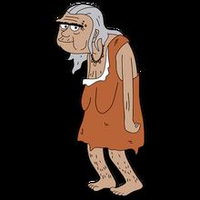 Brickleberry HD CLEAR Character ART Krogg