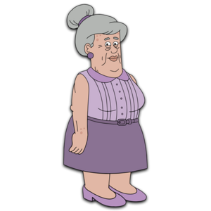 Brickleberry HD CLEAR Character ART Anita Johnson