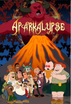 Brickleberry this is the shit end
