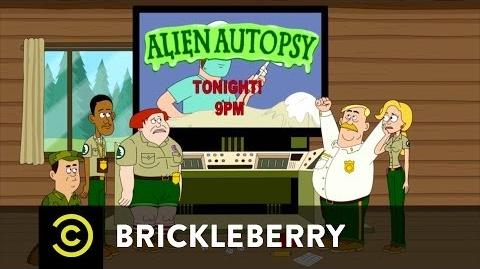Brickleberry Alien Autopsy