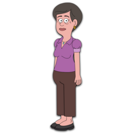 Brickleberry HD CLEAR Character ART Steve's Mum
