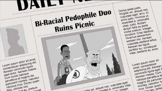 Bi-racial pedophile duo ruins picnic!