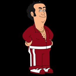 Brickleberry HD CLEAR Character ART Jorge