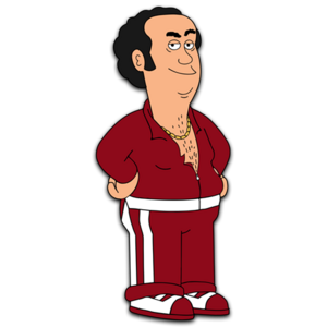 Brickleberry HD CLEAR Character ART Jorge