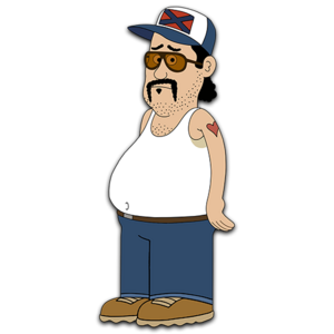 Brickleberry HD CLEAR Character ART Bobby Possumcods
