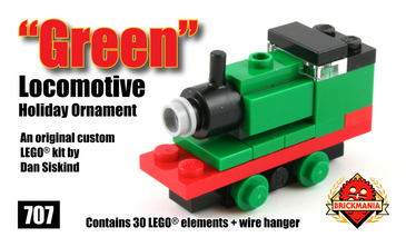 Green Locomotive Holiday Ornament | Brickmania Wiki | FANDOM powered