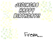 Jedimca0 2010 card bday